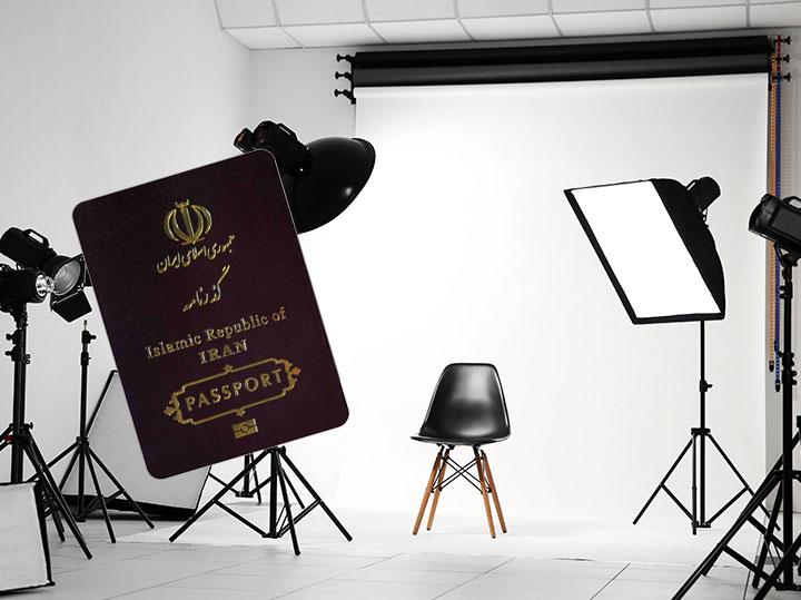 عکاسی پاسپورت